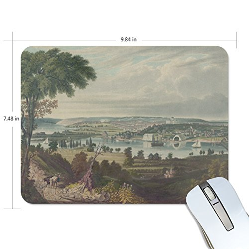 Ye Store In The Morning Countryside Lengthen Thickening of the Mouse Pad for Office - Countryside Store