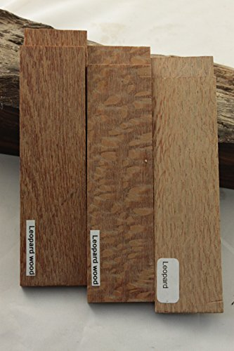 (5 INCH LEOPARD WOOD SCALE)