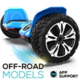 8.5 inch Warrior G2 Hoverboard Smart Self Balancing Scooter with Music Speaker and App-Enabled Hoverboard UL2272 Certificated All...