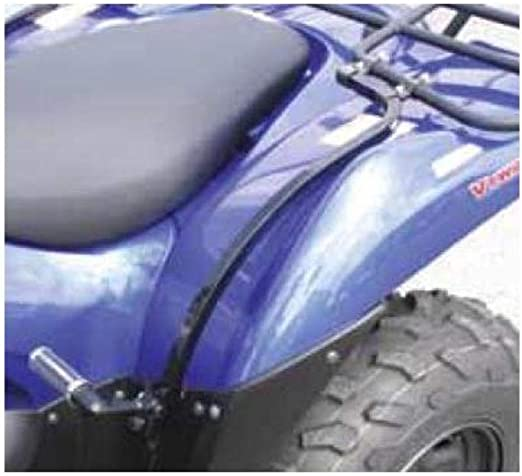 Black~2007 Polaris Sportsman 700 EFI~Quadrax Square Tube Rear Fender Protector