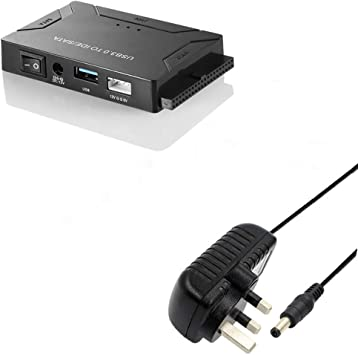 LoongGate® - Cable Adaptador USB a SATA para CD-ROM/PC/SSD/Disco ...