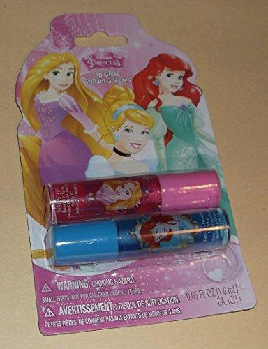 - Disney Princess Lip Gloss - 2 pack - Raspberry & Blueberry