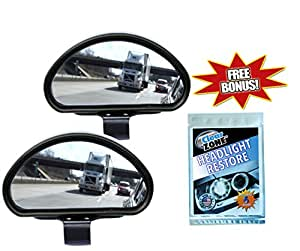 how to set up blind spot mirrors