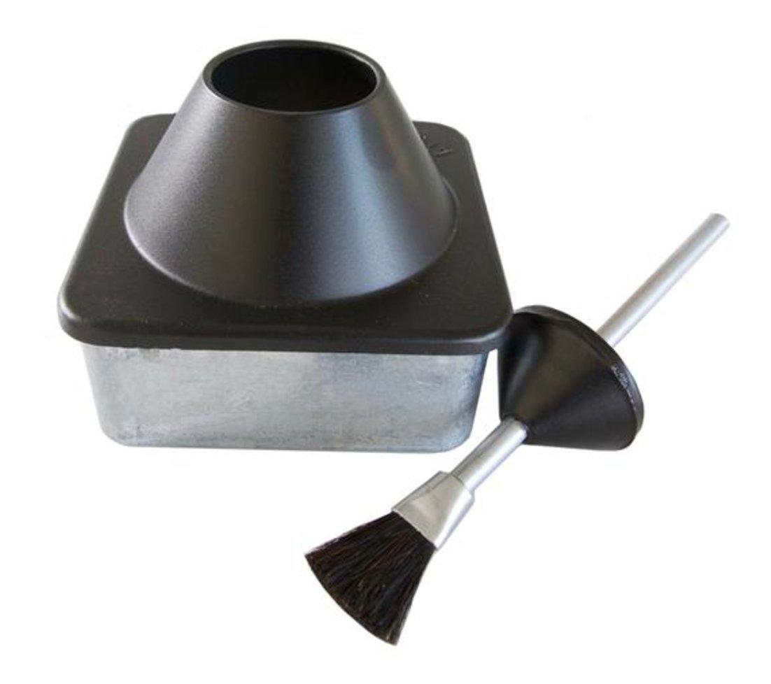 Premium Air-tight Glue Container - Teflon Base + Brush - By RMLS (Glue Container + Brush)