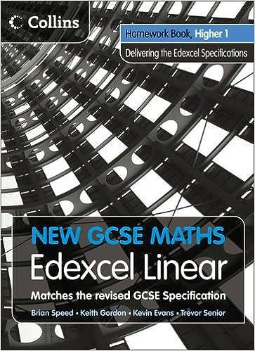 New Gcse Maths Edexcel Linear Homework Book Higher 1 Hour img-1