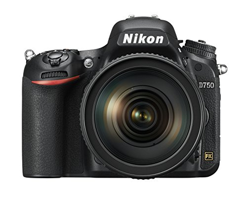 Nikon D750 FX-format Digital SLR Camera w/ 24-120mm f/4G ED VR Auto...