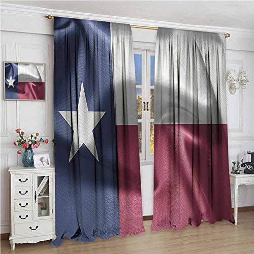 GUUVOR Western Decor Collection 99% Blackout Curtains