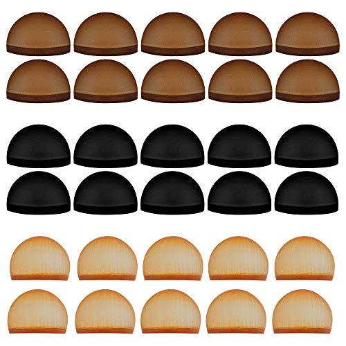 (Tugaizi 30 Pack Nylon Wig Caps Stretchy Nylon Caps for Wig, Wig Stocking Caps for Women)