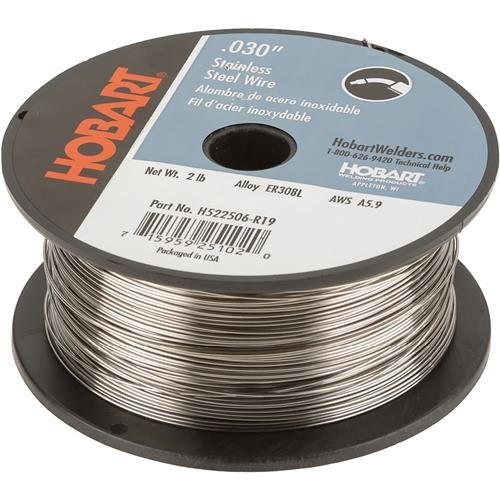 Hobart H522506-R19 0.030-Inch 2-Pound ER308L Stainless Steel Welding Wire by Hobart