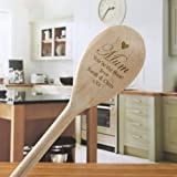 Mum's Personalised Wooden Spoon engraved with any message