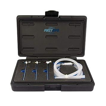 Fit Tools - Mini manguito de purga de embrague y aceite de freno de 8, 10, 11 mm con llave y válvula de retención: Amazon.es: Coche y moto