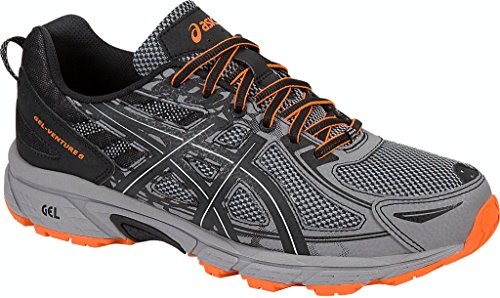 ASICS Men's Gel-Venture 6 Running Shoe, Frost Grey/Phantom/Black, 13 Medium US