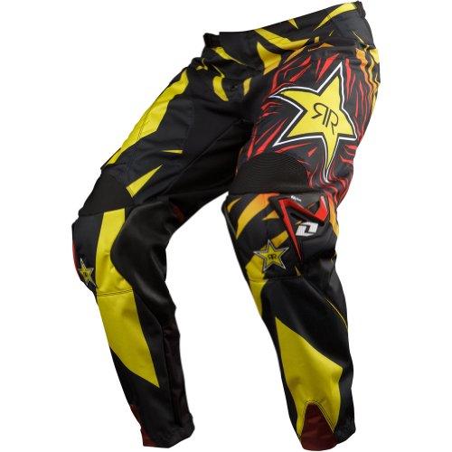One Industries Carbon Rockstar Men's Dirt Bike Motorcycle Pants - Black / Size 30