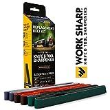 wood sharp 3000 - Work Sharp WSSA0002012 Knife & Tool Sharpener Replacement Belt Kit (WSKTS & WSKTS-KT)