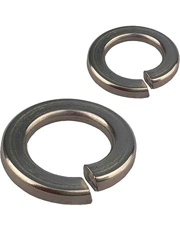 25 St/ück Federringe DIN 127 Form A Verzinkter Stahl, M5 Stahl galvanisch verzinkt