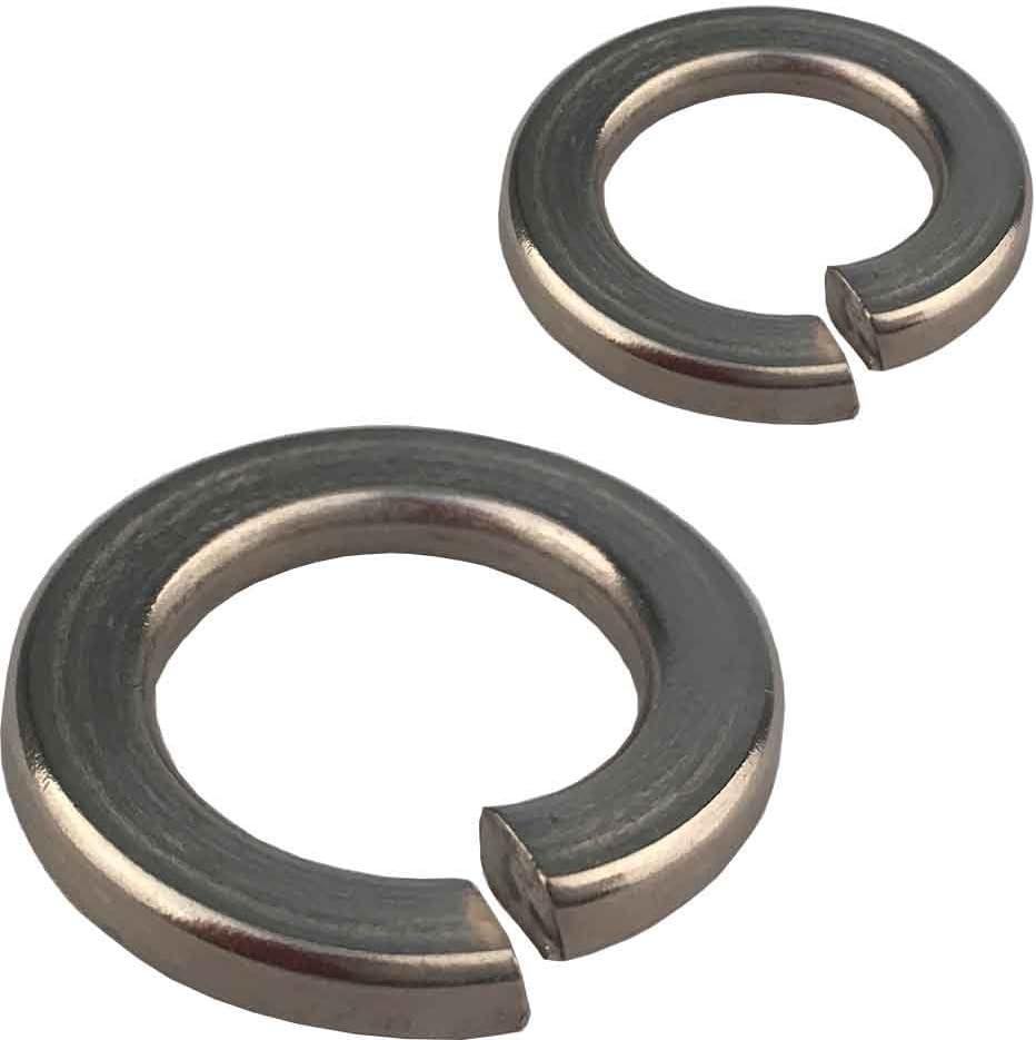 - Beilagscheiben Unterlegscheiben Edelstahl A2 - M2 - Standard V2A DIN 125 Form A SC-Normteile 100 St/ück - SC125
