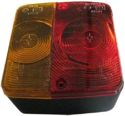 para remolque Comanche Stars Medidas: 105x100 cm freno Funciones: posici/ón intermitente y matr/ícula Motos III i Quads 2005 Piloto posterior para remolque