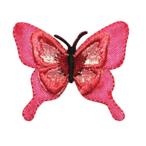 2285 Labels (ID 2285 Shiny Wing Butterfly Patch Fairy Insect Embroidered Iron On Applique for Accessories - Bags/Purses, Apparel - Coat/Jacket, Apparel - Jeans/Pants, Children, Crafts by SayrusPlay)