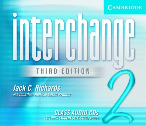 Interchange Level 2 Class Audio CDs (3) by Cambridge University Press