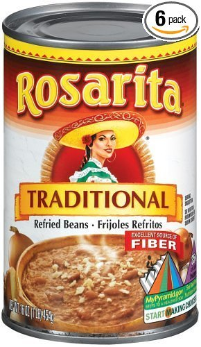 (Rosarita Refried Beans, 6 /16-Ounce Cans)