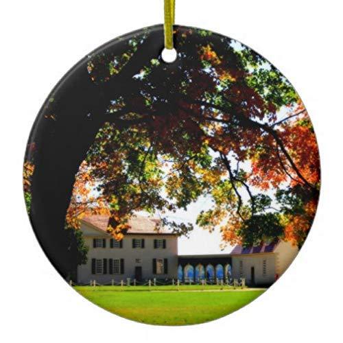 Cheyan Mount Vernon Xmas Trees Home Decorated Ceramic Ornaments Porcelain Ornament Personalize Souvenir