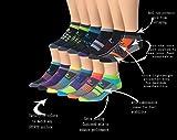 Ronnox Men's 12-Pairs Low Cut Running & Athletic