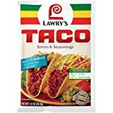 Lawry's Taco Seasoning Mix, 1 oz