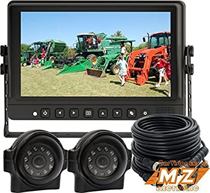 VEISE 7 INCH REAR VIEW BACK UP CAMERA SYSTEM CAB OBSERVATION REVERSE TFT LCD