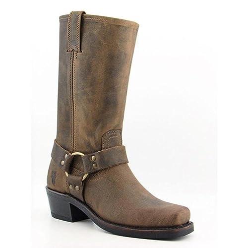 Frye Botas de arnés 15R para Mujer: Amazon.es: Zapatos y complementos