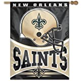 NFL New Orleans Saints 27-by-37-Inch Vertical Flag Review