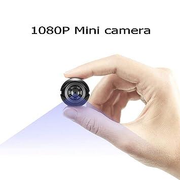 Cámara Espía Oculta 1080P HD Portátil Mini Cámara Espía con Visión ...