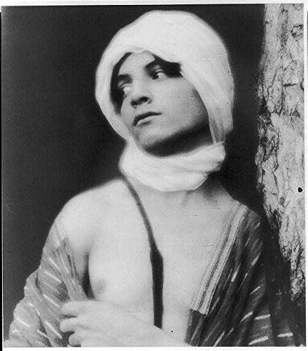 Photo: Youth in Middle Eastern Costume,Turban,1907,Fred Holland Day,Photographer,2