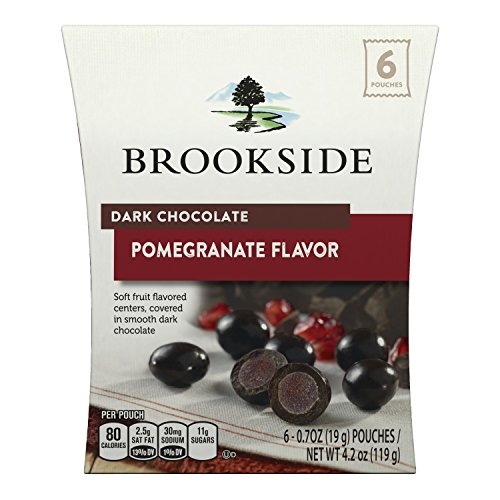 Brookside Dark Chocolate Pomegranate Flavor Candy, 4.2 Ounce (Pack of 8)