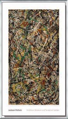 ポスター ジャクソン ポロック Number 3 1949 額装品 アルミ製ベーシックフレーム(シルバー) B071VMBJZ1 シルバー シルバー