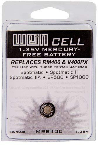 WEIN Cell MRB400 Zinc/Air 1.35V Mercury Replacement Battery- Single