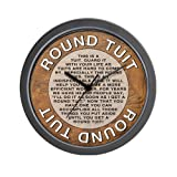 Round-Tuit Wall Clock
