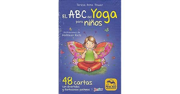 Amazon.com: ABC DEL YOGA PARA NIÑOS. CARTAS (9788893194389 ...