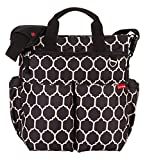 Skip Hop Duo Signature Diaper Bag with Portable Changing Mat, Onyx Tile Image