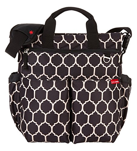 skip-hop-duo-signature-diaper-bag-with-portable-changing-mat-onyx-tile