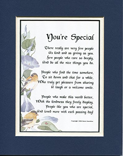 Amazon.com: A Gift Present Poem For A Good Friend Or Neighbor (You're Special) #157, Friendship: Home & Kitchen