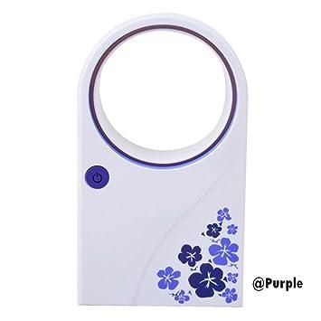Keelied Mini Fan Blattloser Ventilator   Mini USB Oszillations Ventilator  Büro/im