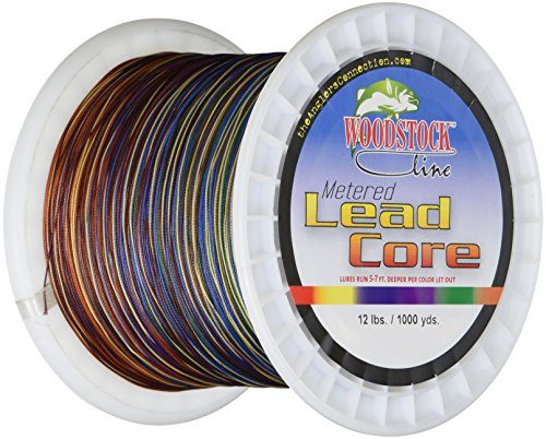 Best lead core wire fishing line gistgear for Lead core fishing line