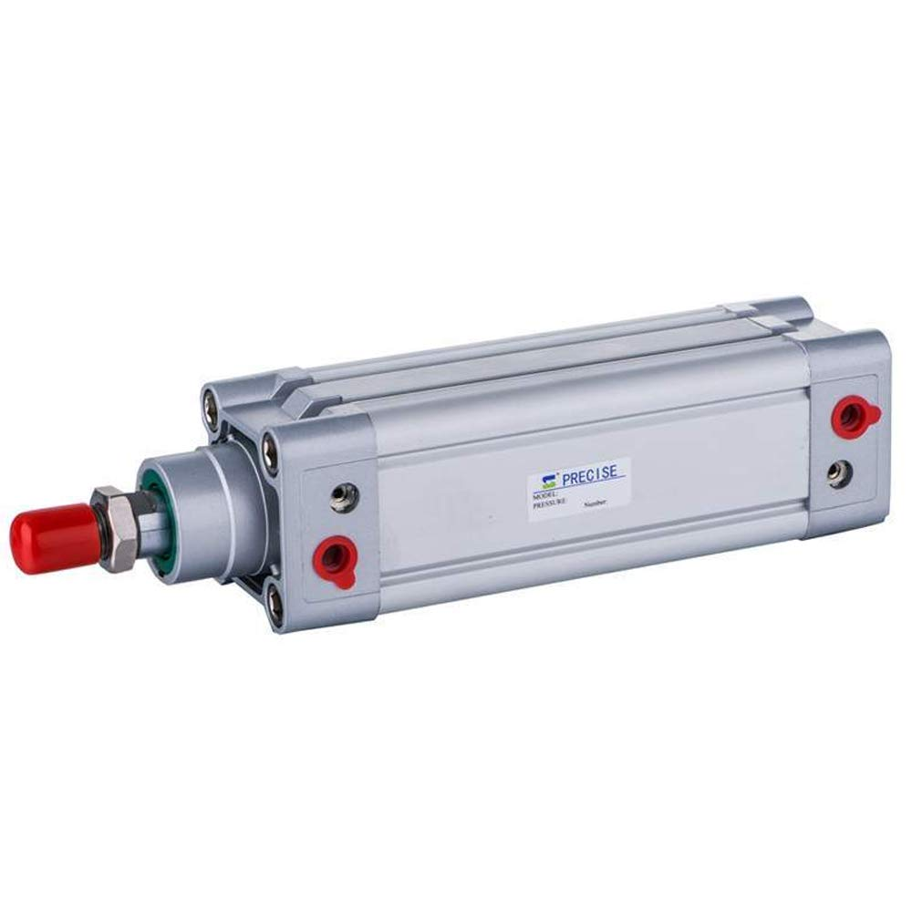 Precise Air Cylinder 63mm Bore x 150mm Stroke 3/8'' NPT ISO15552 Double Acting