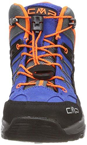 Adulte orange Mid Rigel Fluo Randonnée Chaussures zaffiro Hautes De Wp Campagnolo grey Bleu Mixte Cmp wOEgqzO