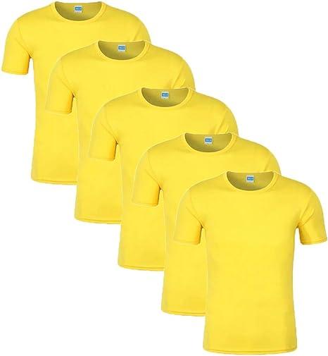 Camisetas para Hombre, Cuello Redondo Ajustadas Camiseta Hombre ...