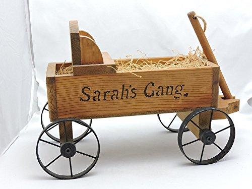 """Sarah's Attic """"Sarah's Gang Wagon"""" 9 x 12"""