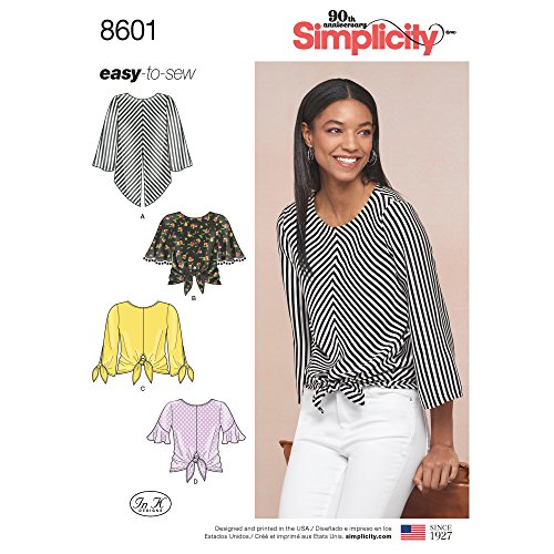 Simplicity Creative Patterns Vest, JKTS, Coats Tops H5 (6-8-10-12-14)