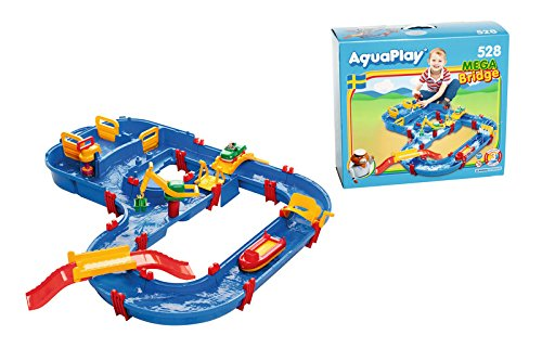 AquaPlay MegaBridge Water Table Toy Kit by AQUAPLAY