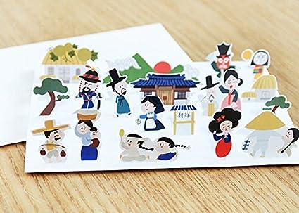 JAM Studio Hello Mundo tarjeta, color 01 Seoul: Amazon.es ...