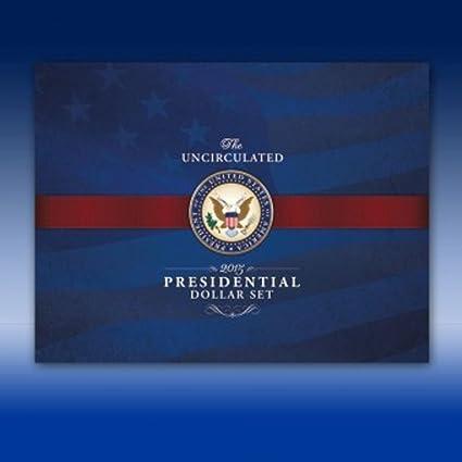 20 Coin Set Denver Mint 2007 2008 2009 2010 2011 D Presidential Dollars